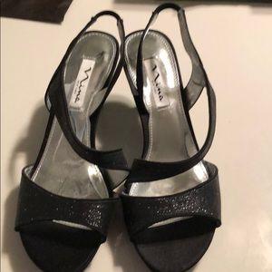 Nina black heels.